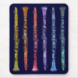 Un arco iris de Clarinets Mouse Pads