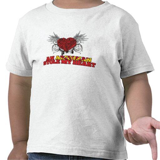 Un Arizonan robó mi corazón Camisetas