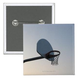 Un aro y una red del tablero trasero de baloncesto pin cuadrada 5 cm
