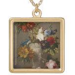 Un arreglo con las flores, siglo XIX Collares Personalizados