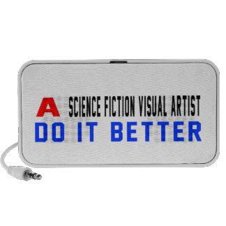 Un artista visual de la ciencia ficción mejora mini altavoces