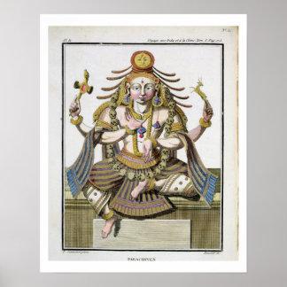 Un aspecto de Shiva, del 'viaje Indes aux. y de un Póster