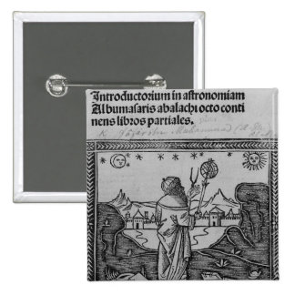 Un astrónomo stargazing pin