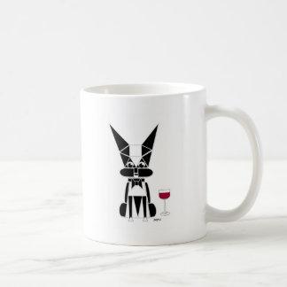 Un asunto formal taza de café