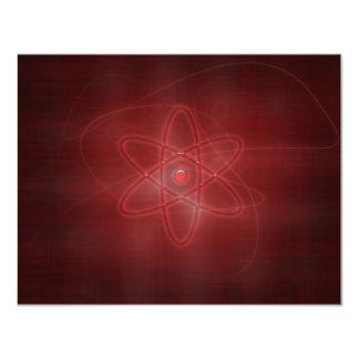 """Un átomo invitación 4.25"""" x 5.5"""""""