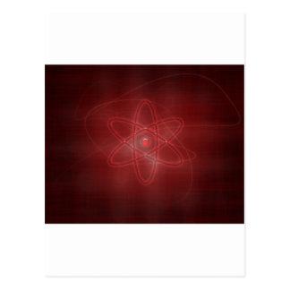 Un átomo postales