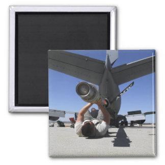 Un aviador de la fuerza aérea de los E.E.U.U. leva Imán Para Frigorífico