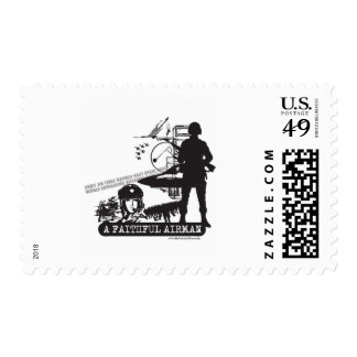 Un aviador fiel sellos postales
