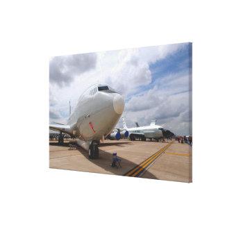 Un avión de la junta de remache de RC-135V/W Lienzo Envuelto Para Galerías
