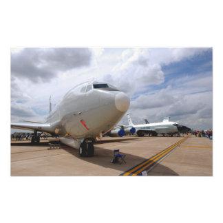 Un avión de la junta de remache de RC-135V/W Arte Fotografico