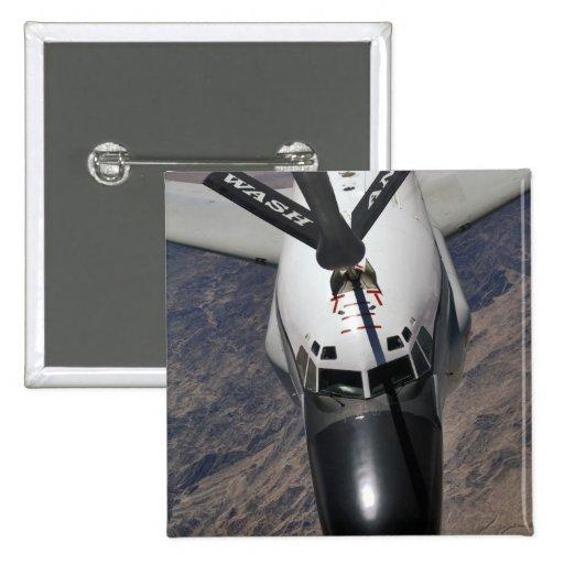 Un avión de reconocimiento de la junta de remache  pin