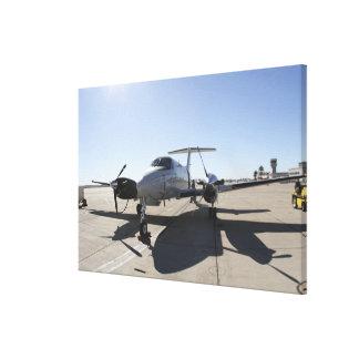 Un avión de rey Air de UC-12F Lienzo Envuelto Para Galerias