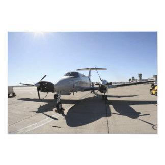 Un avión de rey Air de UC-12F Arte Con Fotos