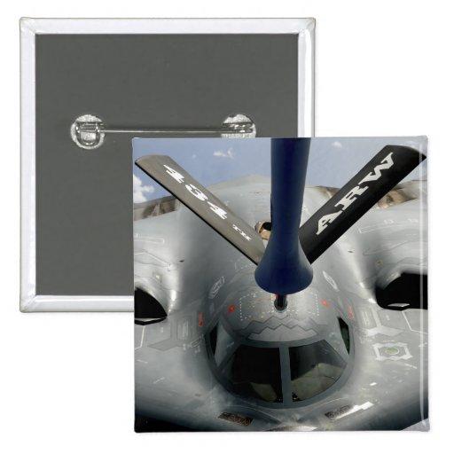 Un avión del alcohol B-2 que consigue en la posici Pin