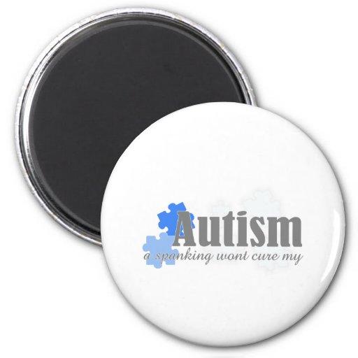 un azote no curará mi autismo imán para frigorífico
