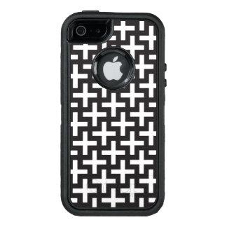 """Un b&w modela hecho con """"más"""" muestra funda otterbox para iPhone 5/5s/SE"""