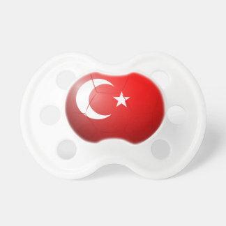 Un balón de fútbol de Turquía Chupete