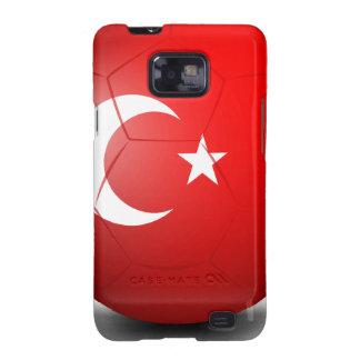 Un balón de fútbol de Turquía Samsung Galaxy S2 Fundas