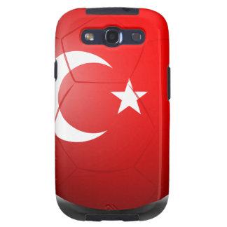 Un balón de fútbol de Turquía Galaxy S3 Fundas