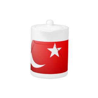 Un balón de fútbol de Turquía