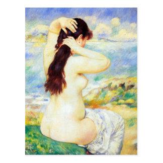 Un bañista de Pedro Renoir Tarjetas Postales