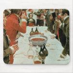 Un banquete al ejemplo de Genet de Washington Alfombrilla De Raton