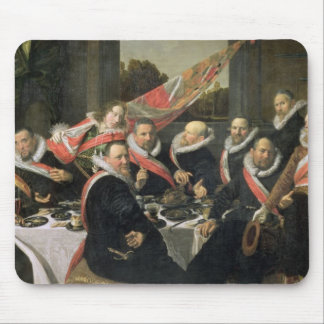 Un banquete de los oficiales de San Jorge Militi Tapetes De Ratón