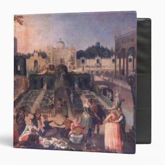 """Un banquete en el parque del duque de Mantua Carpeta 1 1/2"""""""
