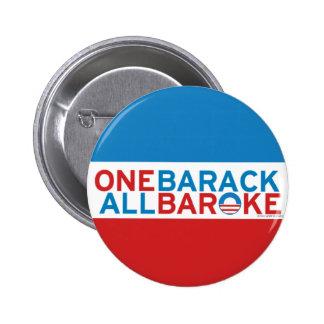 Un Barack, todo rompió el botón #2 Pins