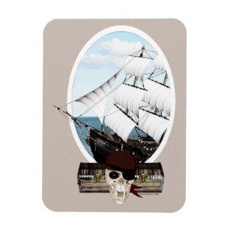 Un barco pirata imanes