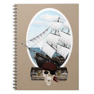 Un barco pirata note book