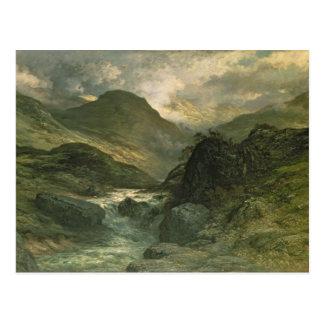Un barranco, 1878 tarjeta postal