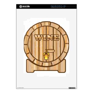 Un barril de vino iPad 2 skin