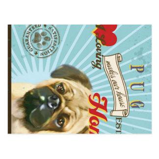 Un barro amasado cariñoso hace nuestro hogar de la postales