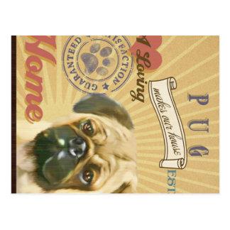 Un barro amasado cariñoso hace nuestro hogar de la tarjetas postales