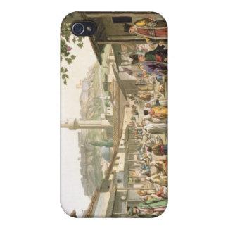 Un bazar en Atenas, platea 1 de la parte 1 de iPhone 4/4S Carcasas