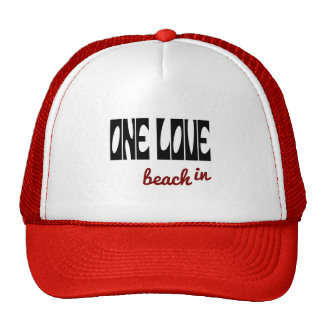 Un beachin del amor gorras de camionero