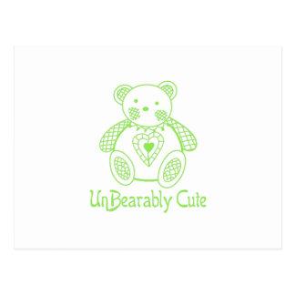 Un Bearably Cute Postcard