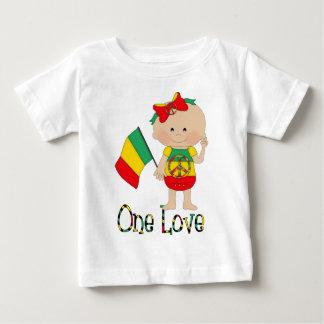 Un bebé 2 de Rasta del amor Playera