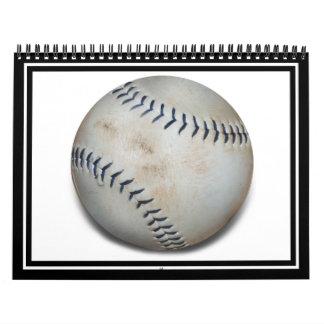 Un béisbol calendario de pared
