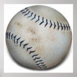 Un béisbol posters