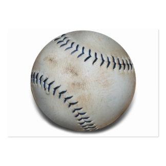 Un béisbol tarjetas de visita grandes