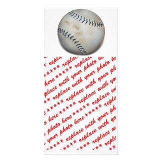 Un béisbol tarjeta fotografica