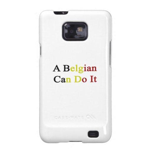 Un belga puede hacerlo galaxy SII carcasa
