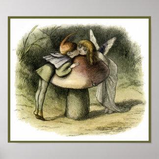 """""""Un beso de hadas"""" por Doyle - impresión Impresiones"""