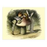 """""""Un beso de hadas"""" por Doyle - postal"""