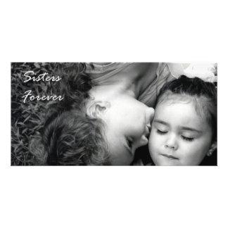 Un beso para de O/Sisters la tarjeta de la foto pa Tarjeta Personal Con Foto