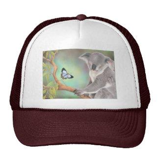 Un beso para la koala gorras