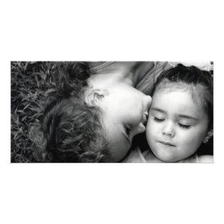 Un beso para la tarjeta de la foto de O Tarjetas Con Fotos Personalizadas