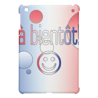 ¡Un Bientôt La bandera francesa colorea arte pop